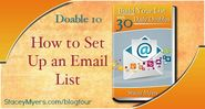 Setting up an Email List - Doable 10