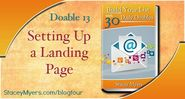 Build Your List: Set Up a Landing Page - Markbeech Marketing