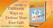 Different Ways to Deliver Your Free Gift- Doable 14