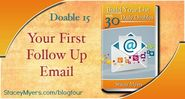 Your First Follow Up Email - Doable 15