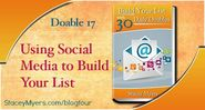 Using Social Media to Build Your List - Doable 17