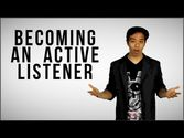 How To Become An Active Listener