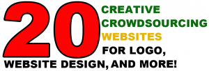 Headline for 20 Creative Crowdsourcing Websites For Logo, Website Design, And More