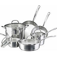 Farberware Millennium Stainless Steel Nonstick 10-Piece Cookware Set - Kitchen Things