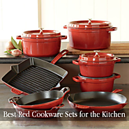 Top Rated Red Cookware Sets - Cool Kitchen Things