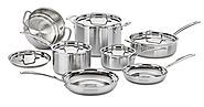 Top Rated Stainless Steel Cookware Sets