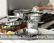 Best Stainless Steel Cookware Sets Kitchen Things