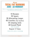 Total Fat Burning