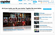Capzles Social Storytelling | Online Timeline Maker | Share Photos, Videos, Text, Music and Documents Easily