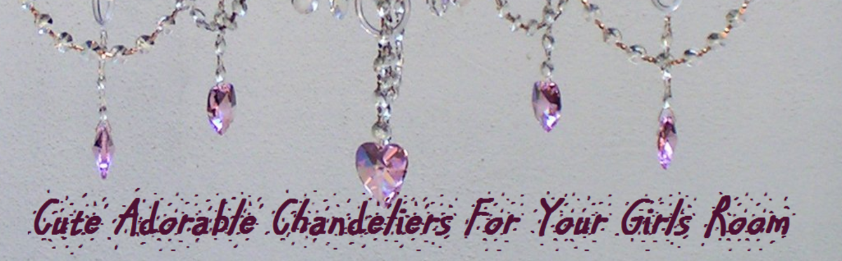 Headline for Cute Chandeliers For Girls Room Adorable Crystal
