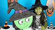 HALLOWEEN WITCH PIÑATA W/ Candy Toys and Surprises|B2cutecupcakes