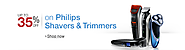 Upto 35% off On Philips Shavers & Trimmers @ ...