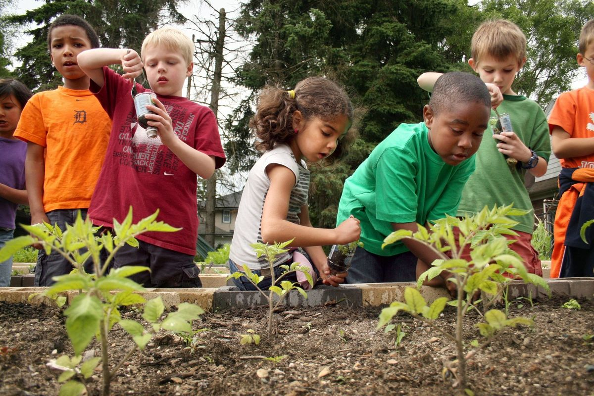 Headline for Radical Growing: 10 Steps for Starting a Community Garden.