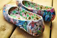 p.s.♡: diy: comic book shoes