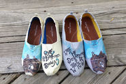 Make it Yourself: Painted Canvas Shoes - The Good Weekly