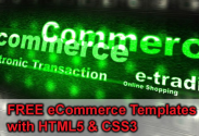 20 Best FREE eCommerce Templates coded with HTML5 & CSS3 - 2013