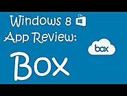 Windows 8 App Review: Box