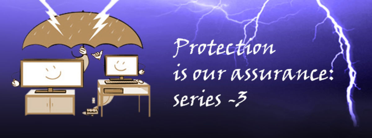 Headline for Protection is our assurance: series -3