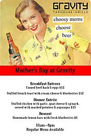 Mother's Day at Gravity - Gravity Taphouse Grille