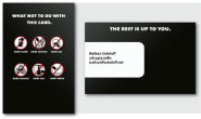 Clever and Funny Business Cards That Will Crack You Up | CreativeFan
