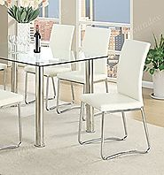 Top 10 Best Faux Leather Dining Chairs White Reviews 2017-2018