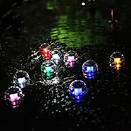 Top 10 Best Floating Solar Pond Pool LED Lights Reviews 2018-2019