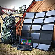 Top 10 Best Portable Solar Laptop Chargers Power Banks Reviews 2018-2019