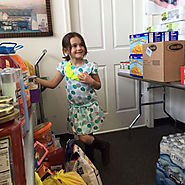 Mady Wiley is collecting 20,000 pounds of food for those in need. What did YOU do this month? #KidsRule