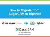 SugarCRM to Highrise Switch: Comprehensive Guidance