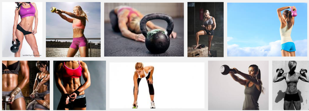 Headline for Fat Burning Kettlebell Workout Routines