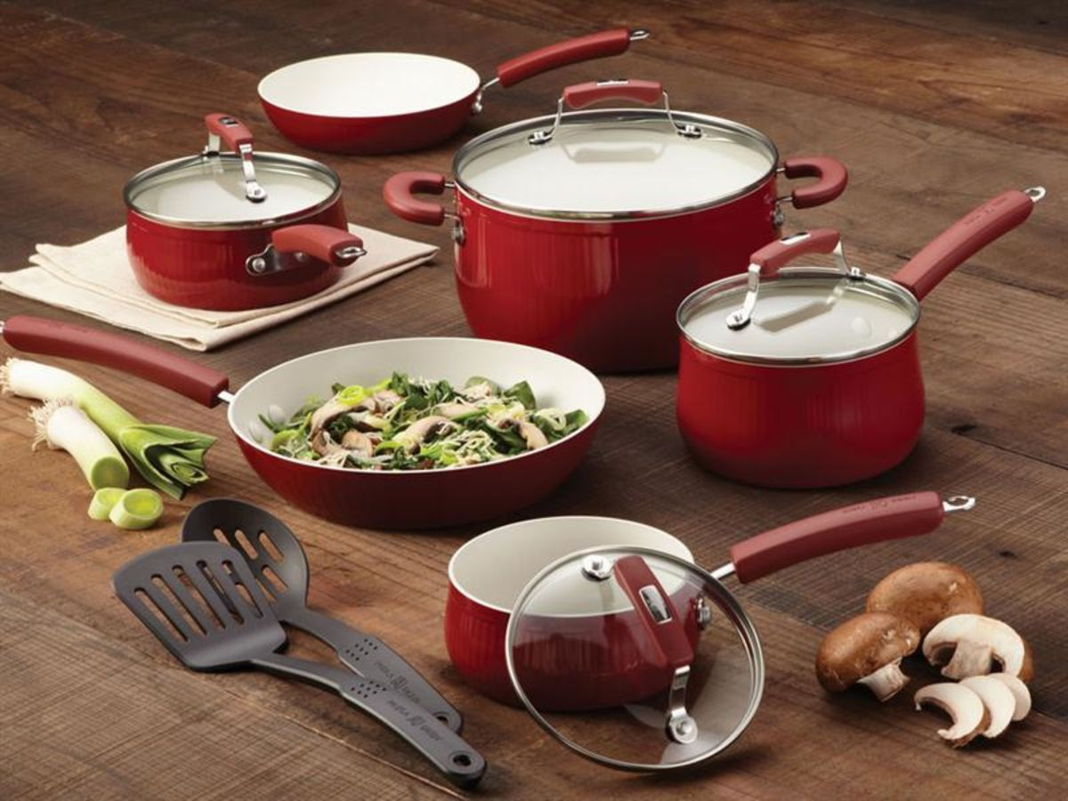 Headline for Best Red Calphalon Cookware Sets