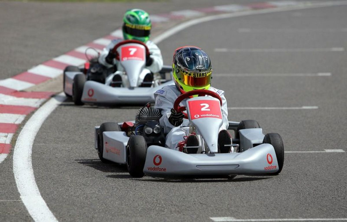 Going karting : New iphone 5s review