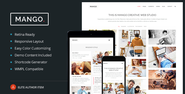 Mango - Multipurpose Portfolio & Business WP Theme Download