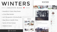 Winters - Blog WordPress Theme Download