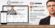 Lawyer & Law - Attorney, Advocate WordPress Theme Download