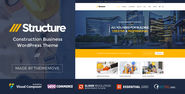 Structure - Construction Business WordPress Theme Download