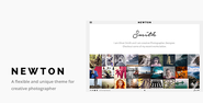 Newton | Responsive Creative Photography Theme Download