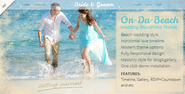 On Da Beach - Wedding WordPress Theme Download