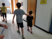 Buddy Up! 5th Graders & Kindergarteners are Finding Patterns