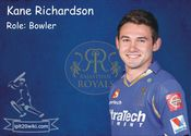 Kane Richardson- Rajasthan Royals