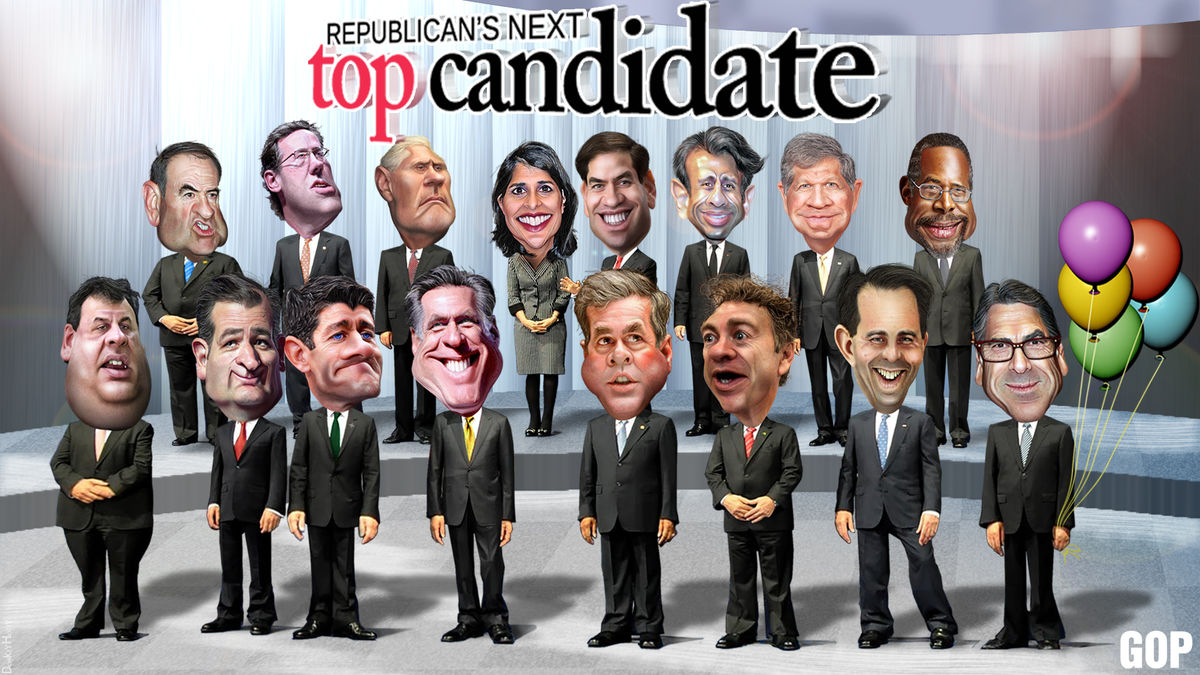 Headline for 2016 Republican Party Presidential Candidates List