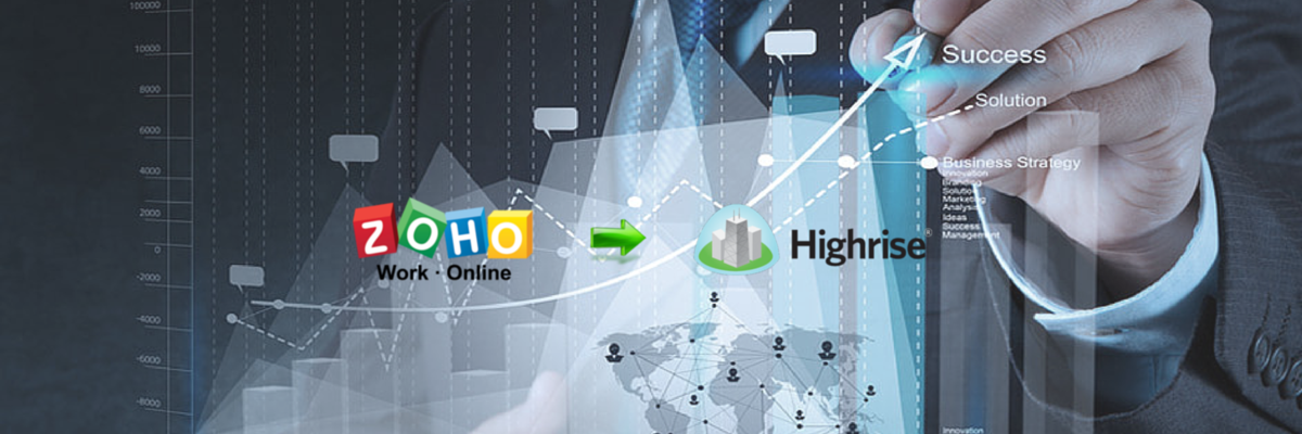Headline for Zoho to Highrise: Practical Guidelines for Effective CRM Switch
