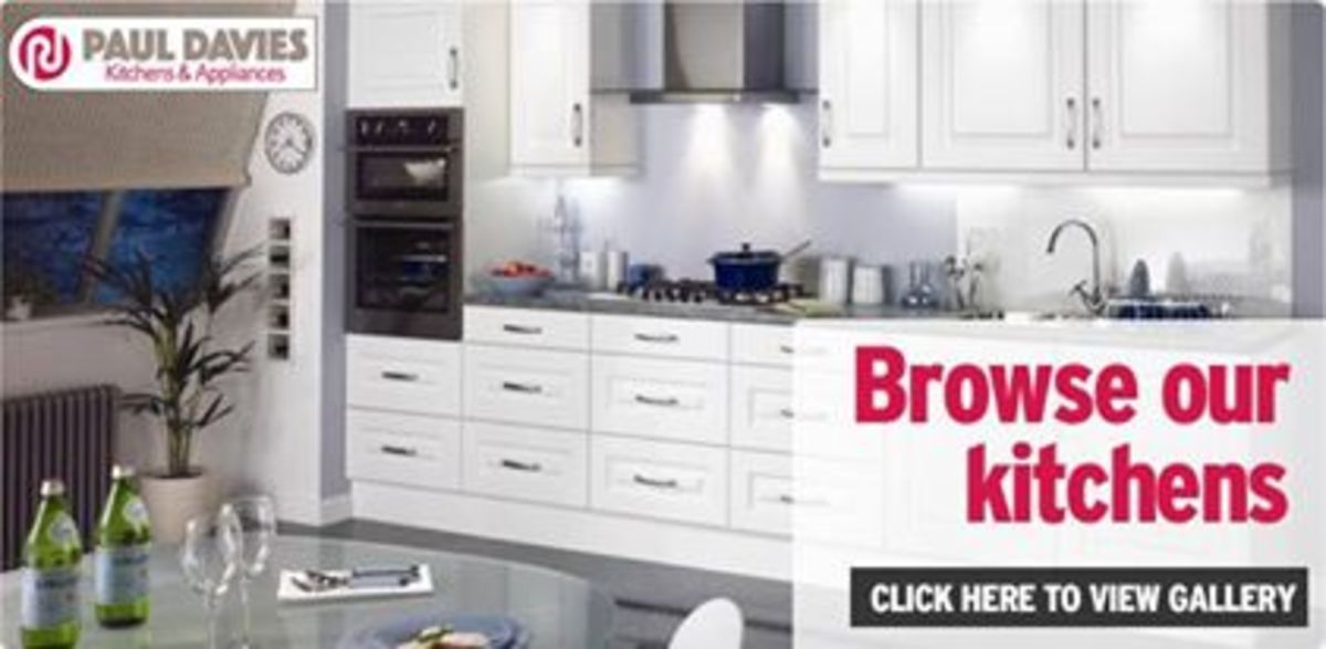 Headline for Paul Davies Appliances and Kitchens