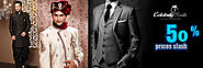 Mens White Wedding Suit