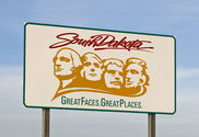 South Dakota - great places and faces but no income taxes.