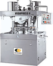 VegaPress II - HIgh Speed Rotary Tablet Press cGMP