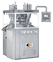 VegaPress I - Double Speed Rotary Tablet Press cGMP