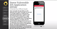Damn Vulnerable iOS App (DVIA)