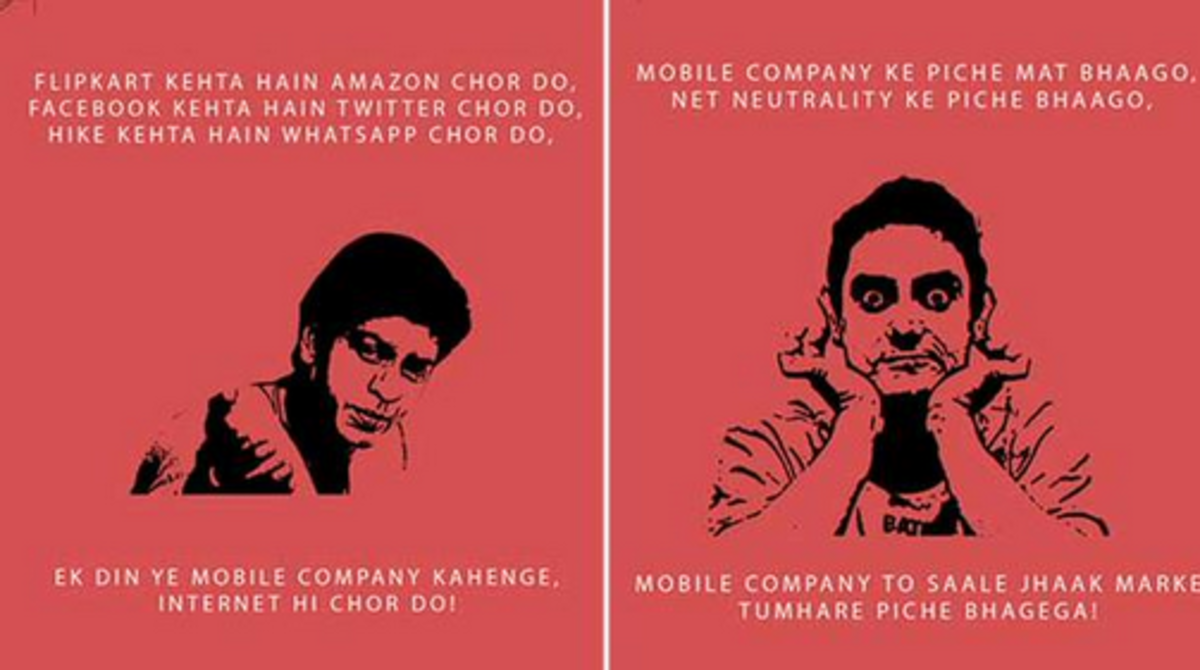 Headline for Funny take on Net Neutrality in Bollywood style