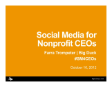 Social Media for Nonprofit CEOs